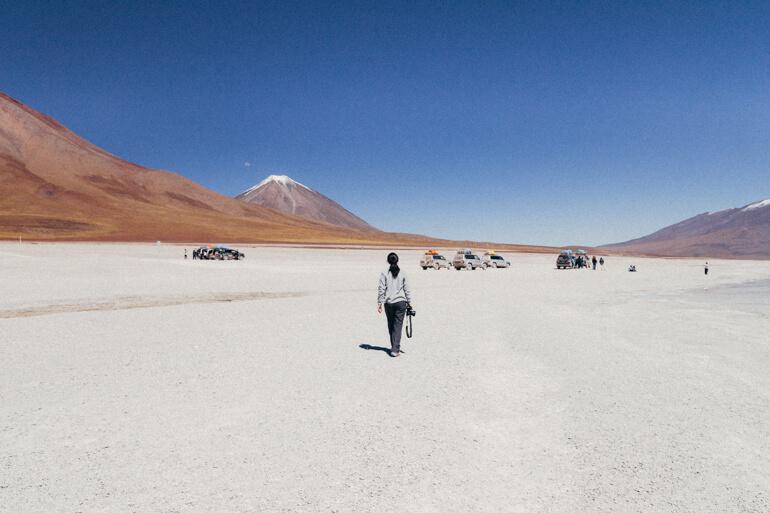 Paisagens desérticas - Salar de Uyuni, primeiro dia