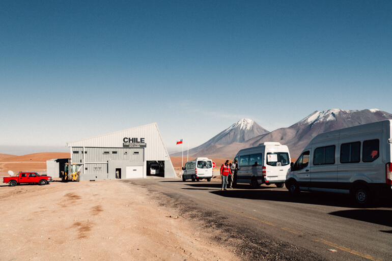 Complejo Fronterizo Hito Cajón | Salar de Uyuni - primeiro dia
