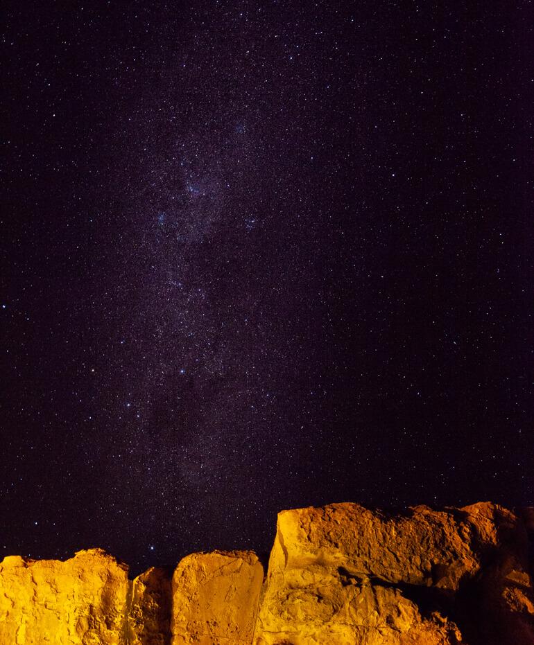 Céu estrelado   Viajando na Janela