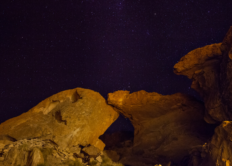 Salar de Uyuni à noite