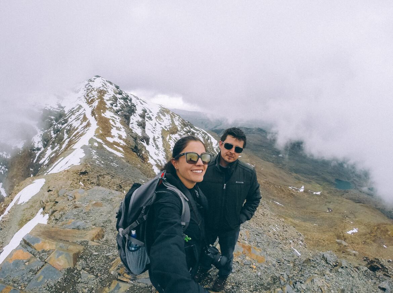 No topo do Chacaltaya