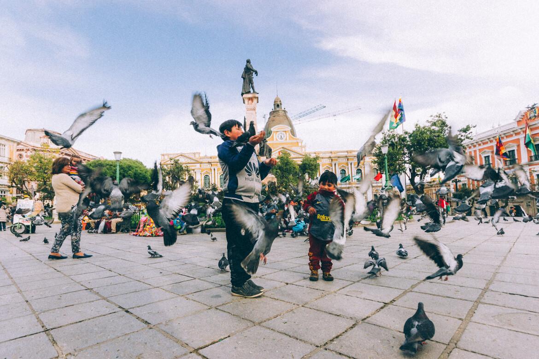 La Paz - Praça Murillo