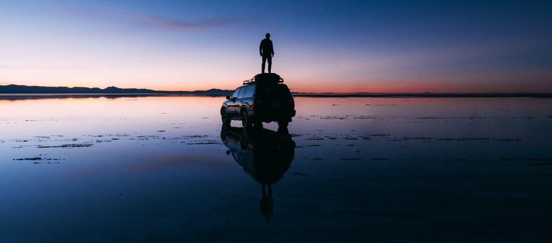 Salar de Uyuni - Viajando na Janela