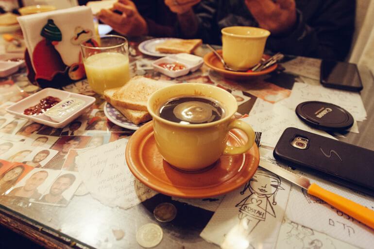 Estrada da Morte, Bolívia: café da manhã