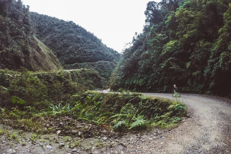 Estrada da Morte, Bolívia: descida