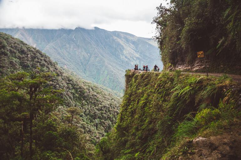 Estrada da Morte, Bolívia: Curva do Diabo
