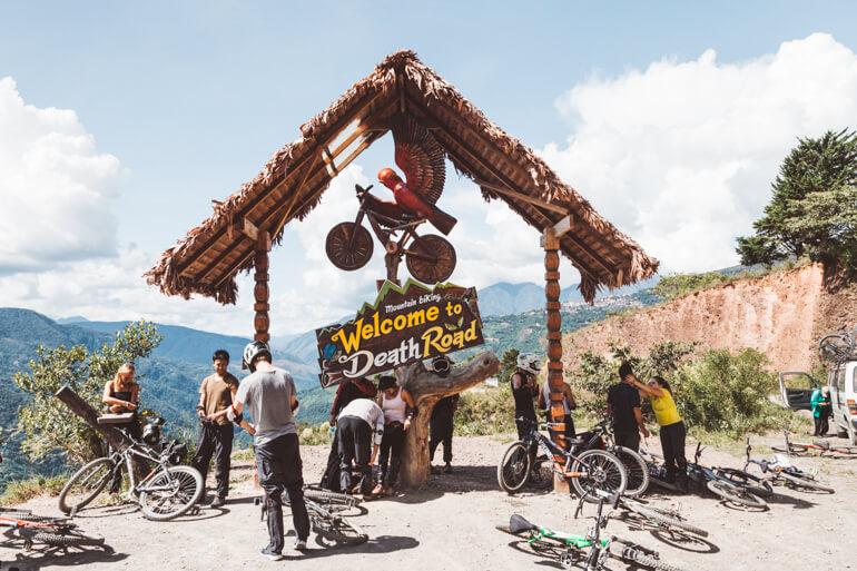 Estrada da Morte de bicicleta, Bolívia: final