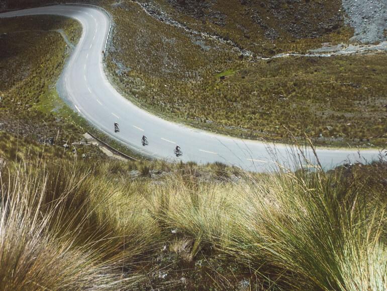 curvas na Estrada da Morte, Bolívia