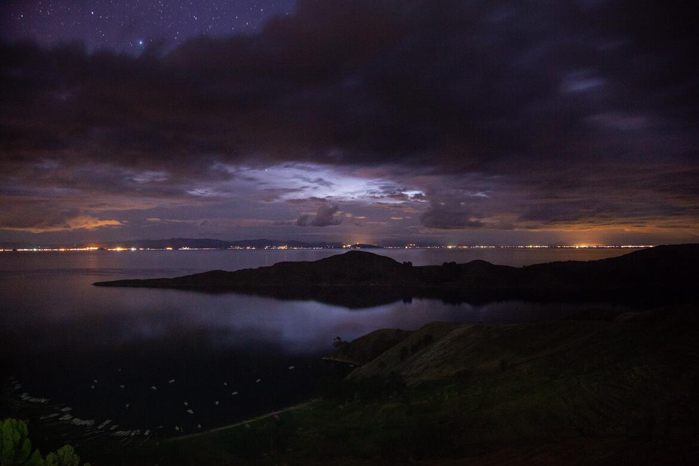 Isla del Sol - noite