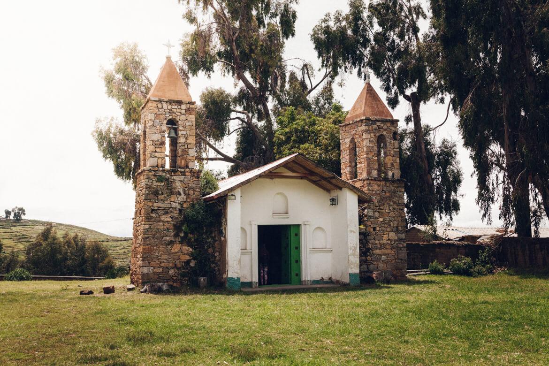 Isla del Sol - igreja de San Antonio