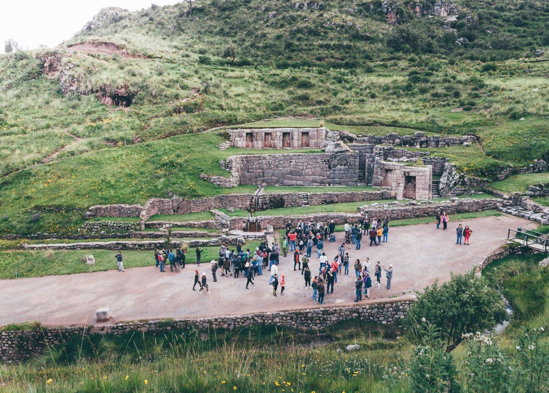 Tambomachay, templo inca destinado ao culto à água