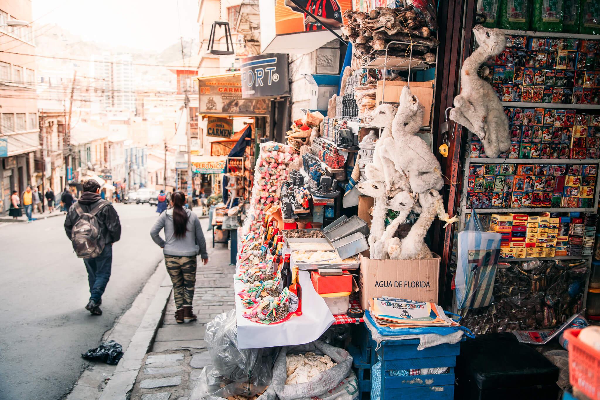 Mercado das Bruxas de La Paz