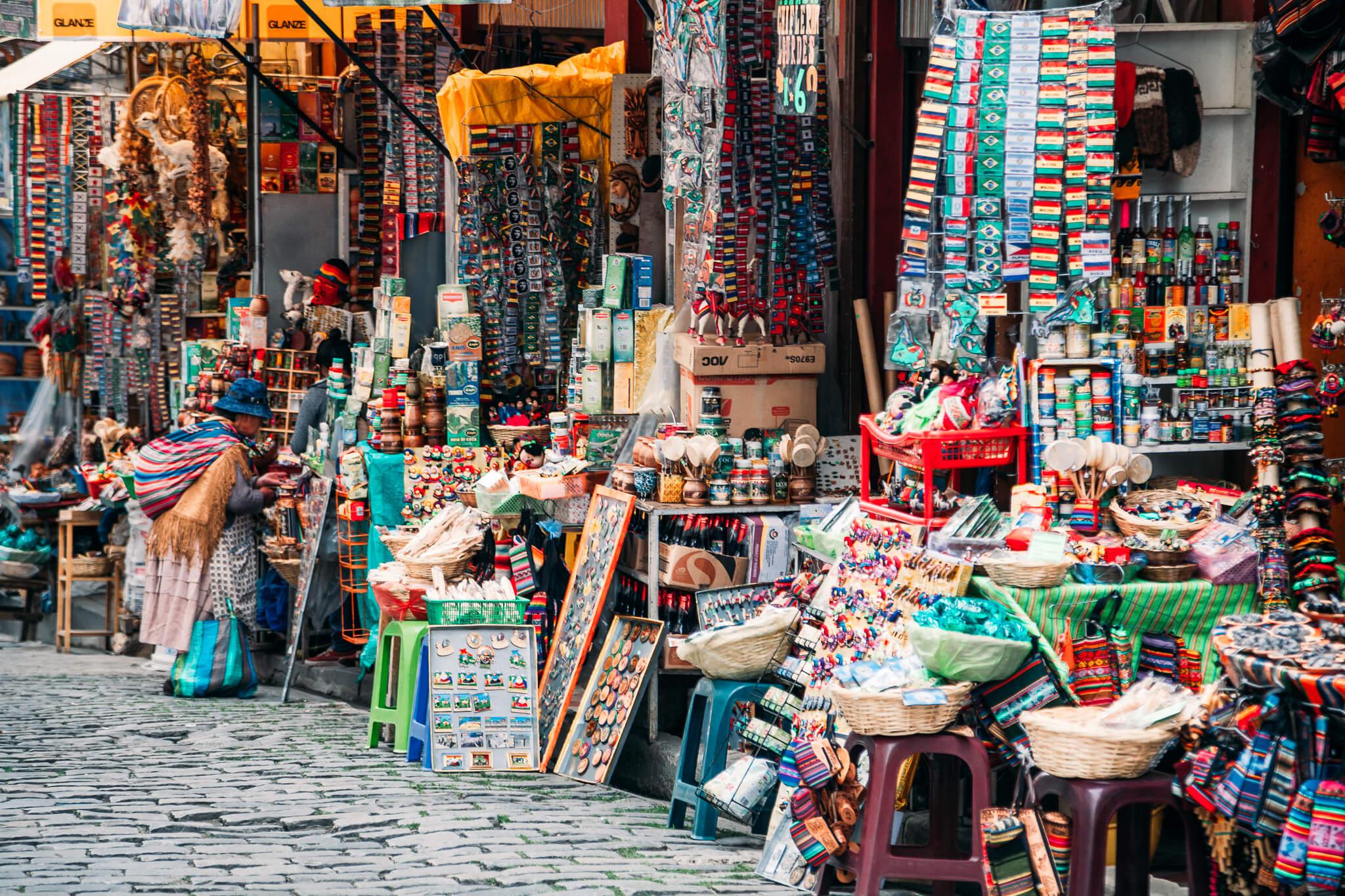 Mercado das Bruxas de La Paz (Mercado de las Brujas)