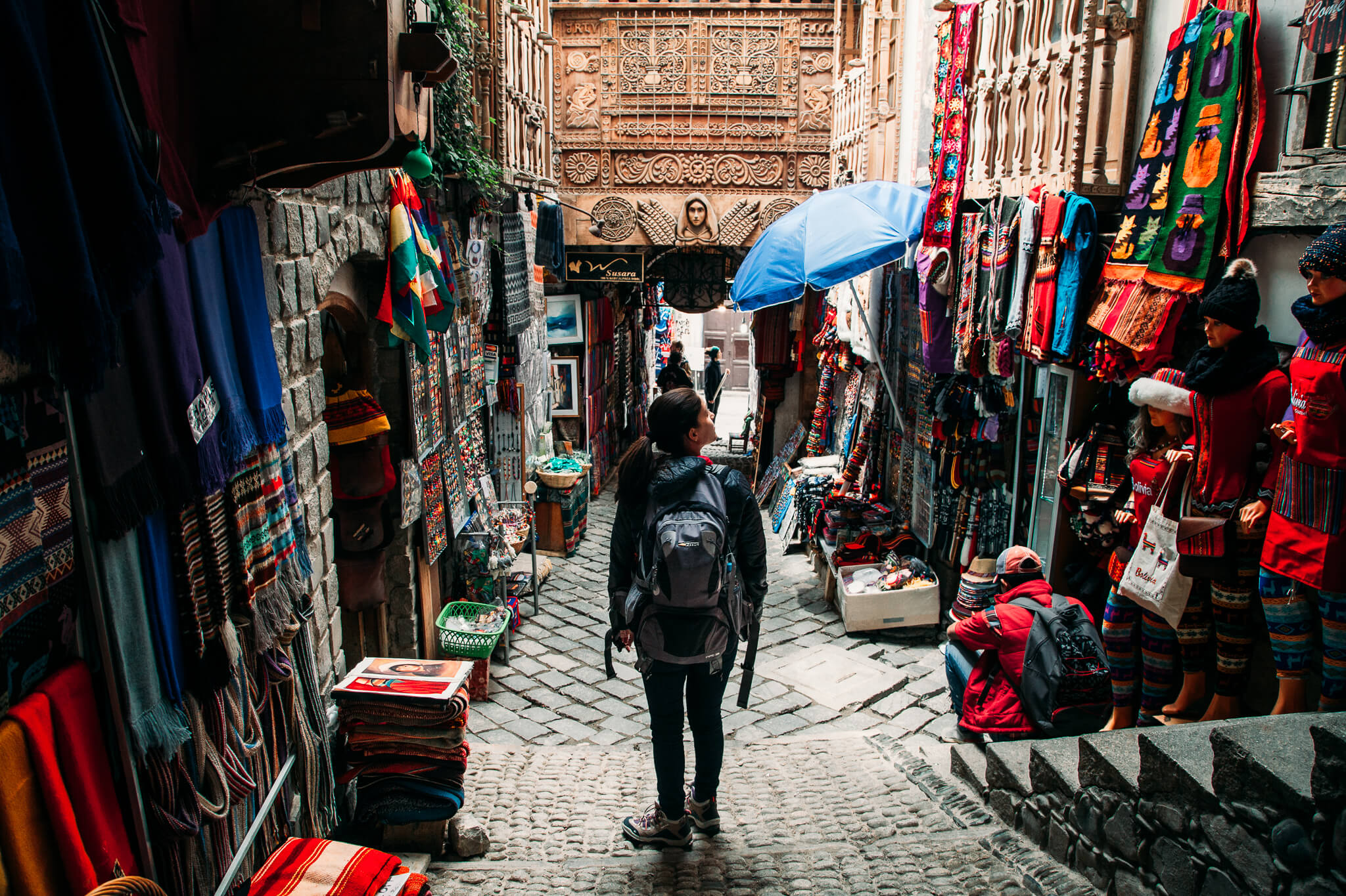 Galeria do Mercado das Bruxas de La Paz