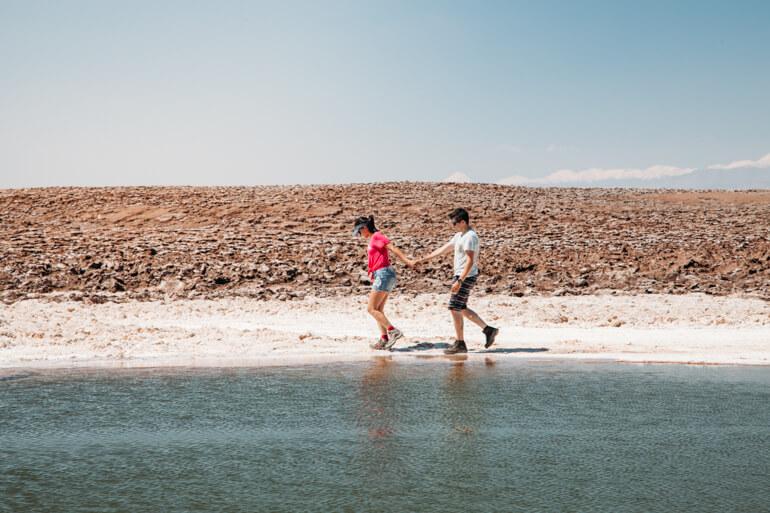 Quanto custa conhecer o Atacama? - Lagunas Escondidas