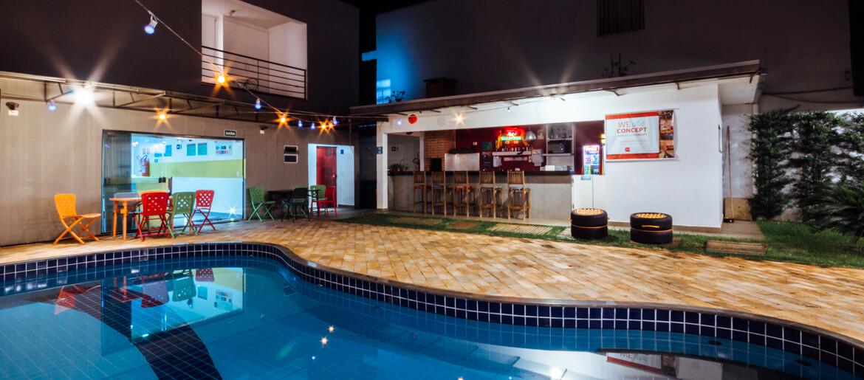 A melhor opção de hospedagem em Foz do Iguaçu: Concept Design Hostel & Suítes