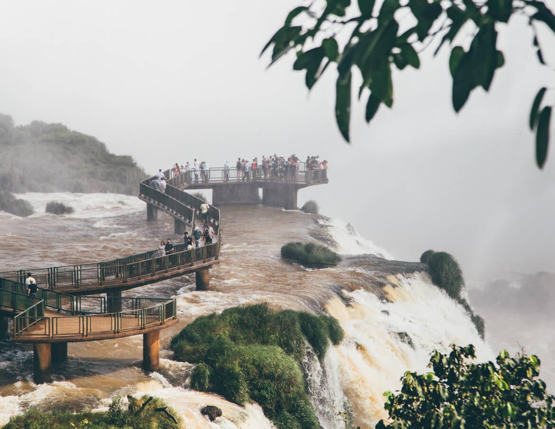 Mirante das Cataratas do Iguaçu