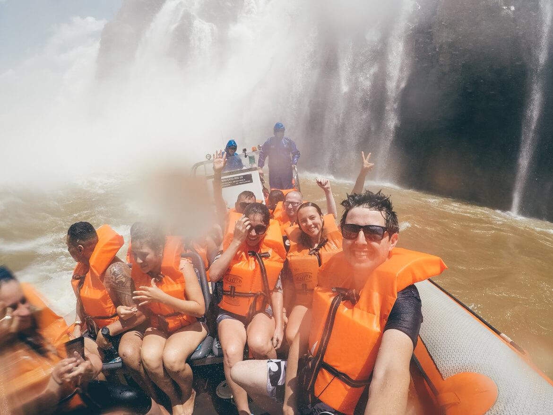Macuco Safari: Essa queda ai do fundo é chamada de Salto Três Mosqueteiros