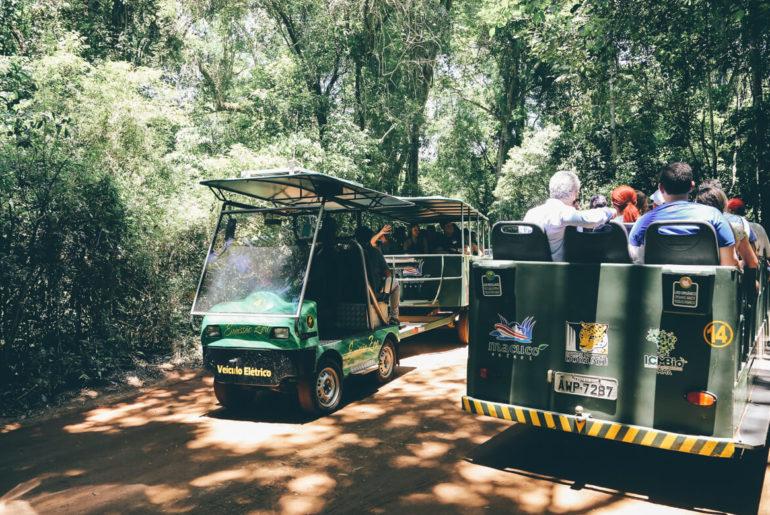 Macuco Safari: Veículo elétrico