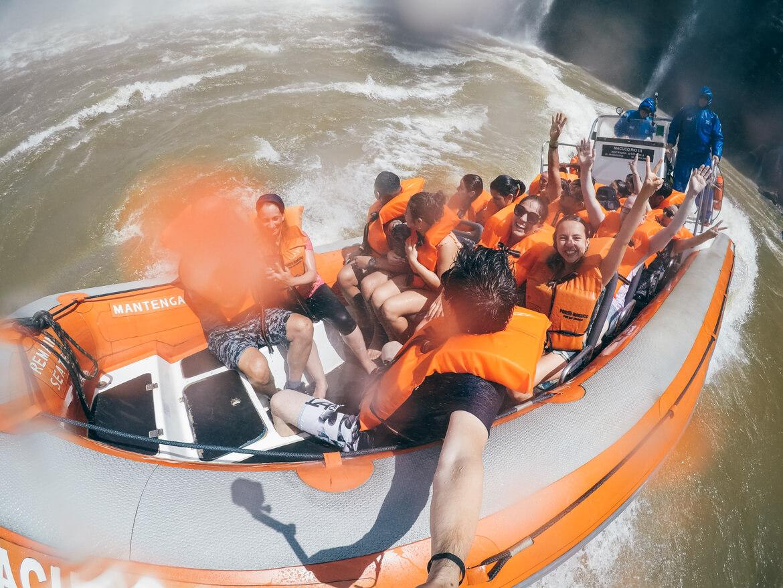 Manobras radicais no Rio Iguaçu \o/