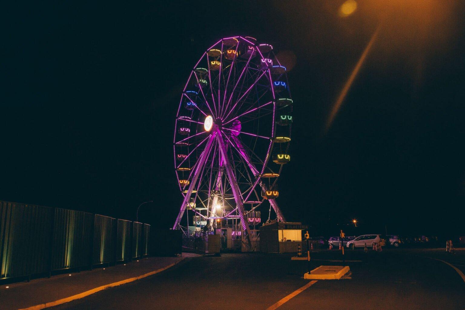 Roda gigante Marco das Três Fronteiras