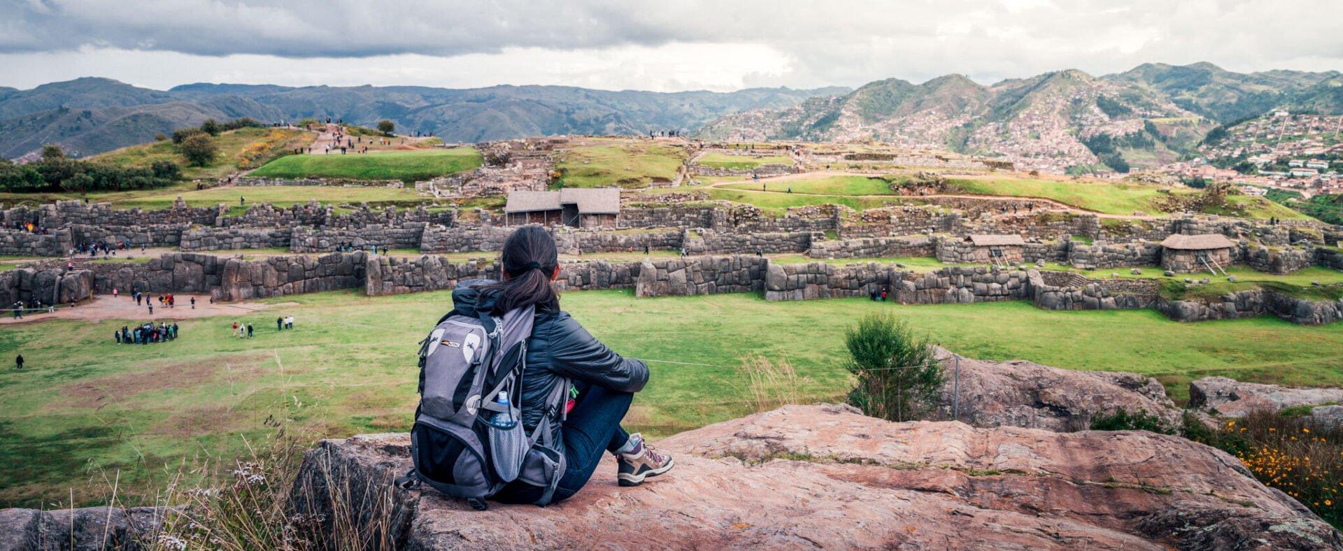 Sítio Arqueológico Sacsayuamán, em Cusco