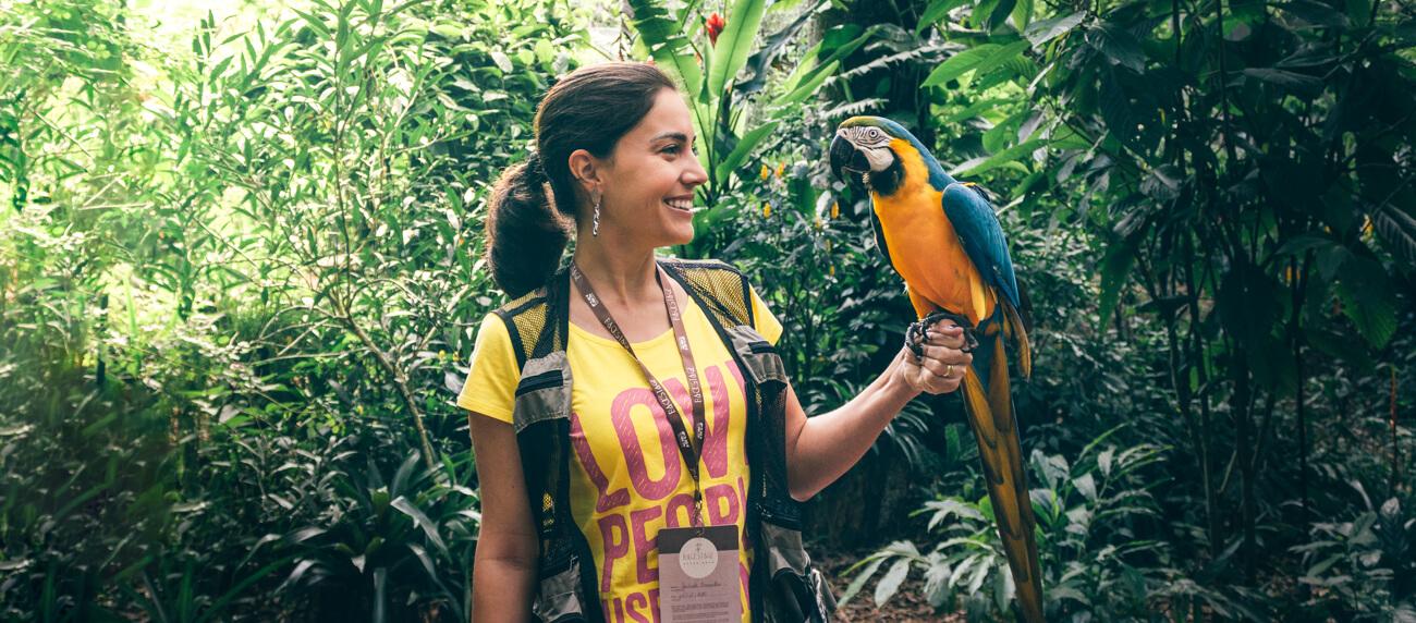Backstage Experience: conhecendo os bastidores do Parque das Aves
