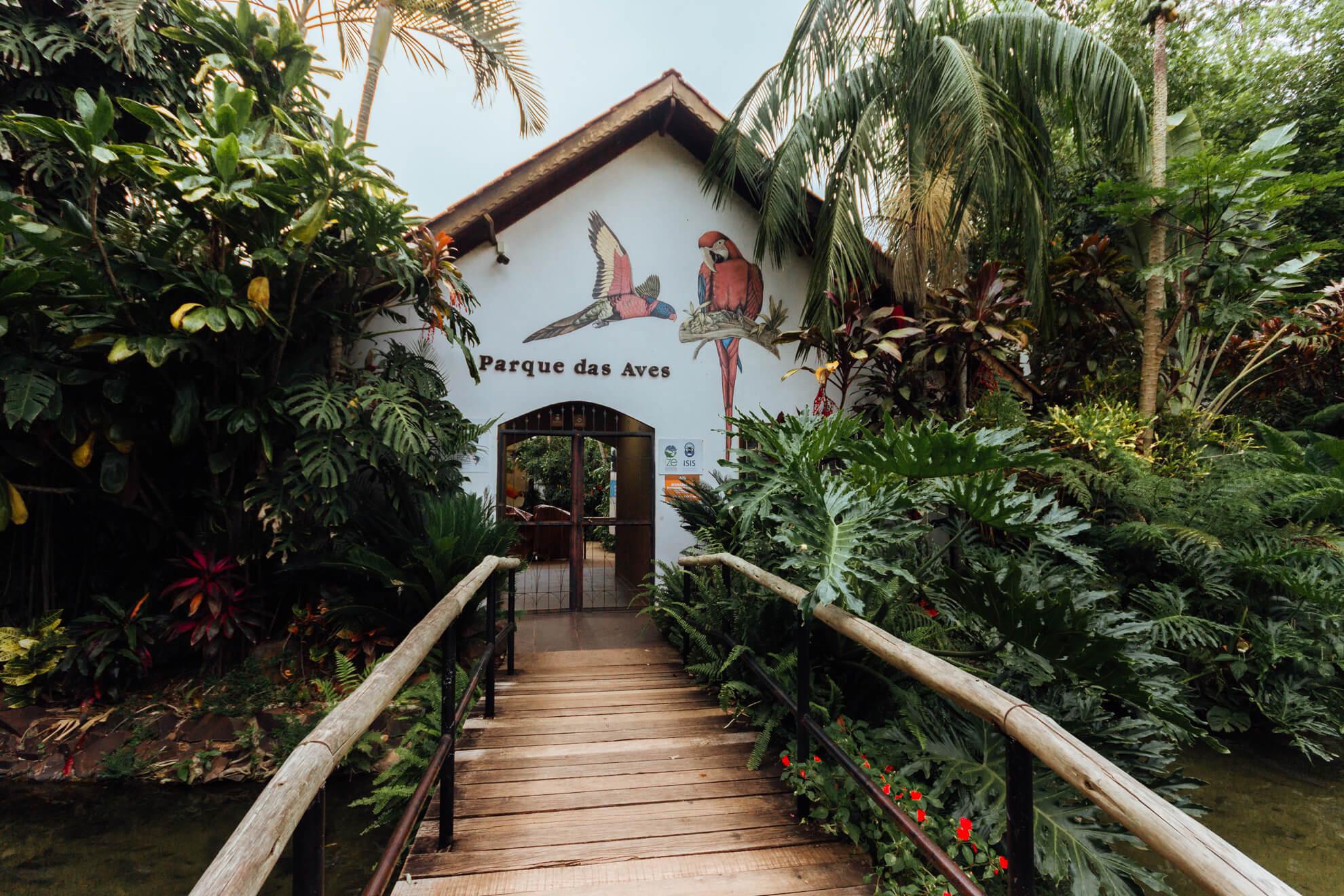 Parque das Aves, Foz do Iguaçu | entrada do Parque