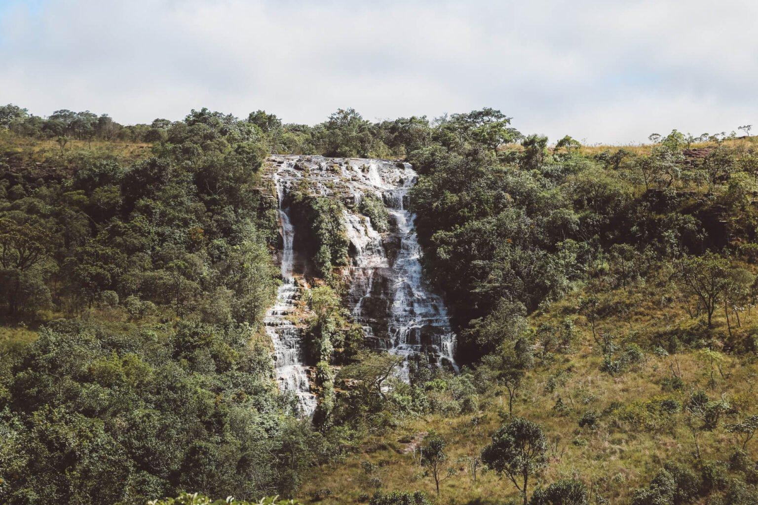 Cachoeira Véu da Noiva - Carrancas MG