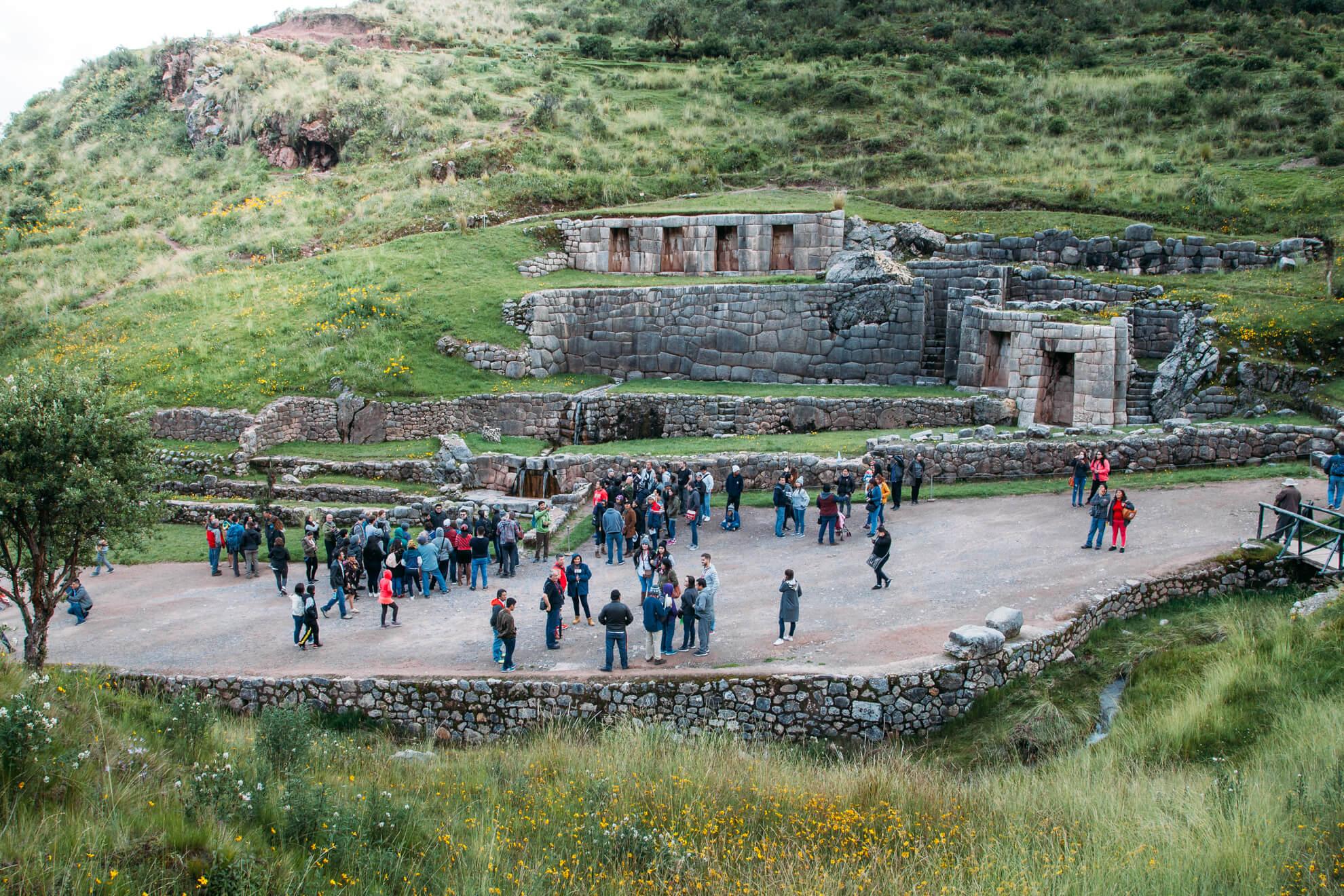 Tambomachay e suas fontes   City Tour em Cusco