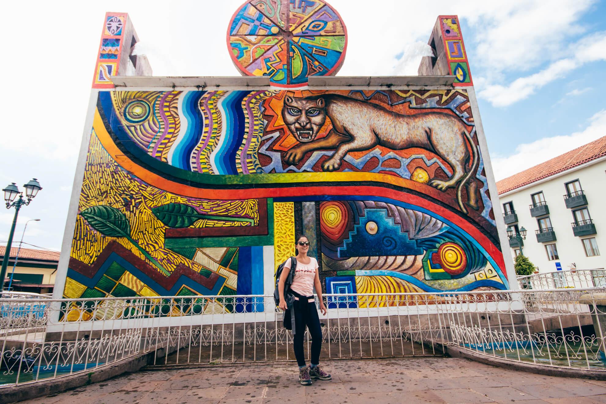 Fonte em Cusco | O que fazer em Cusco, no Peru