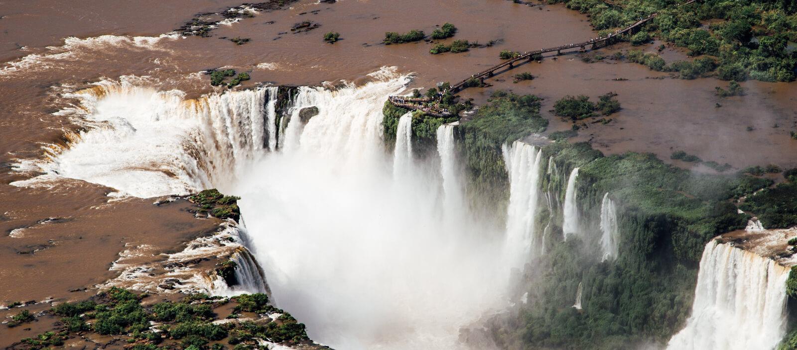 Passeio de helicóptero - Cataratas do Iguaçu