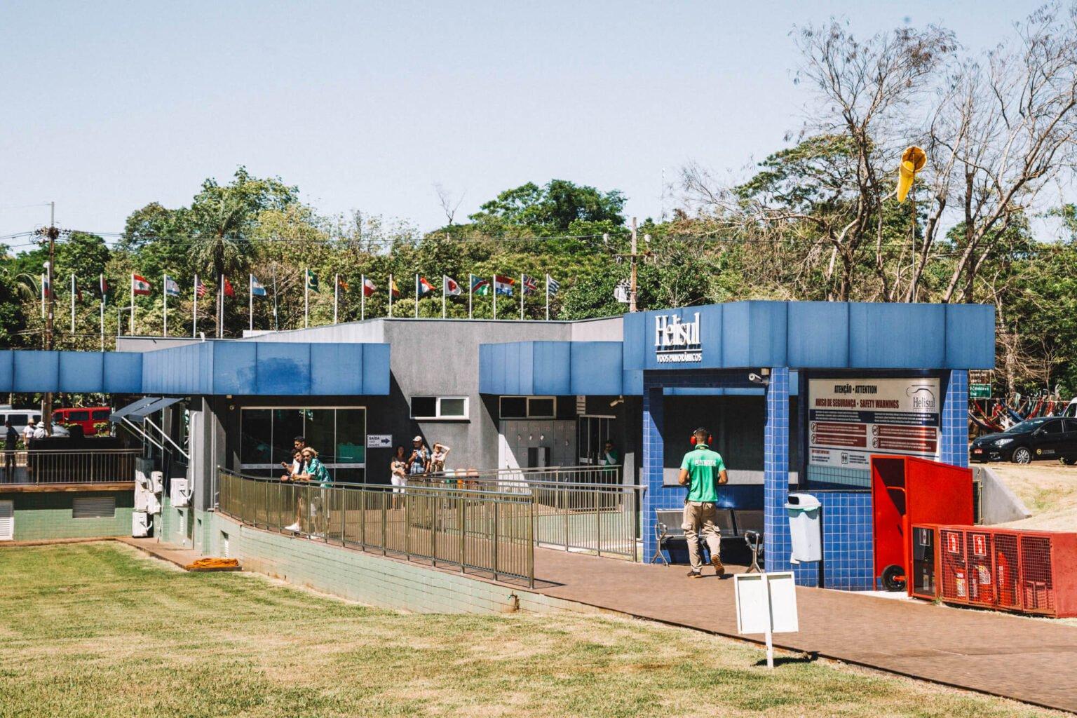 Sede da empresa Helisul em Foz do Iguaçu | Passeio de helicóptero