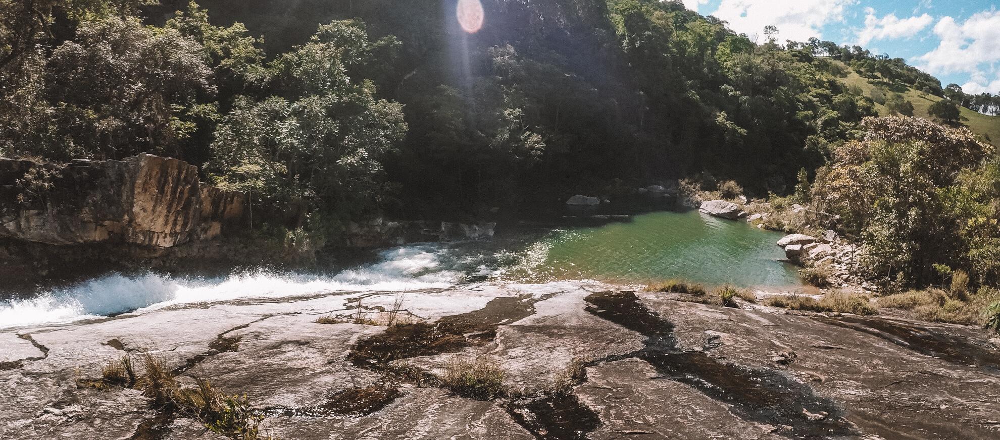 Cachoeira da Proa - Carrancas MG