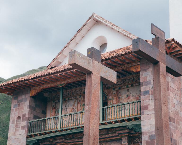 Detalhes da Igreja de Andahuaylillas