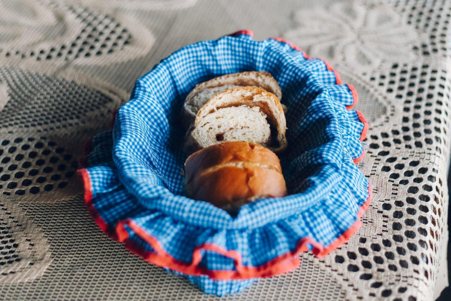 O famoso pão de canela