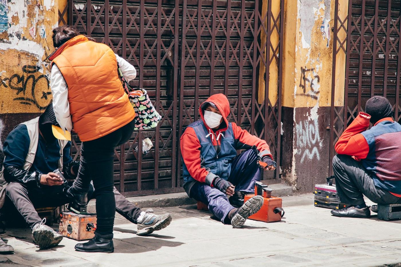 fotos de La Paz, Bolívia