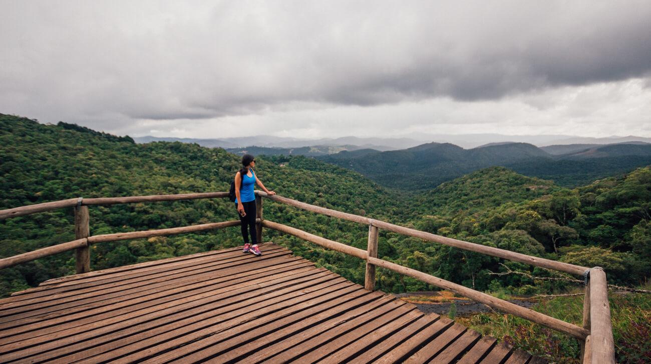 Mirante da trilha da Pedra Redonda
