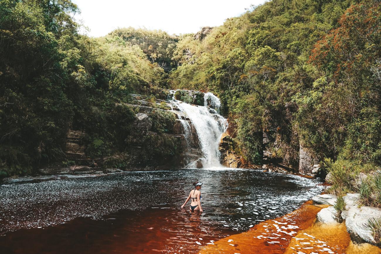 Ibitipoca MG: Cachoeira dos Macacos