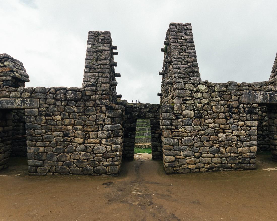 Detalhes de Machu Picchu