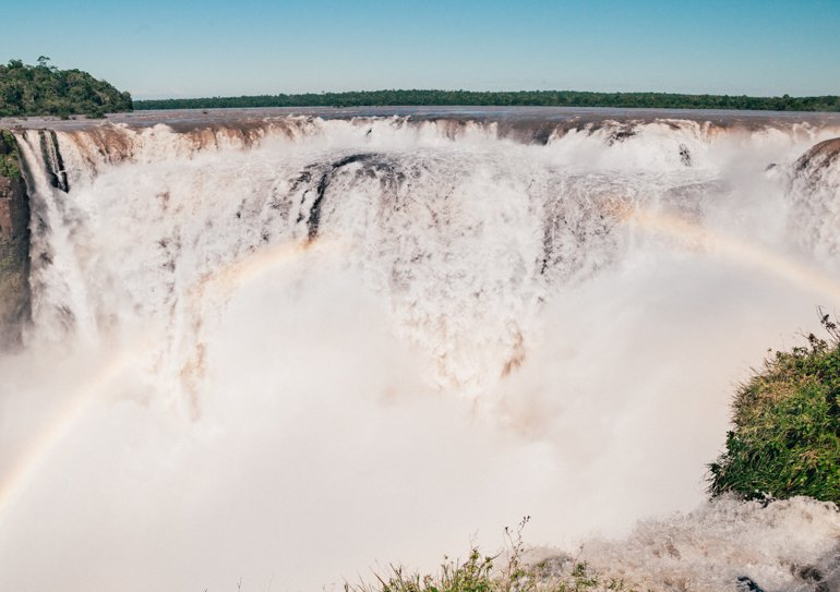 Cataratas Argentina: Garganta do Diabo