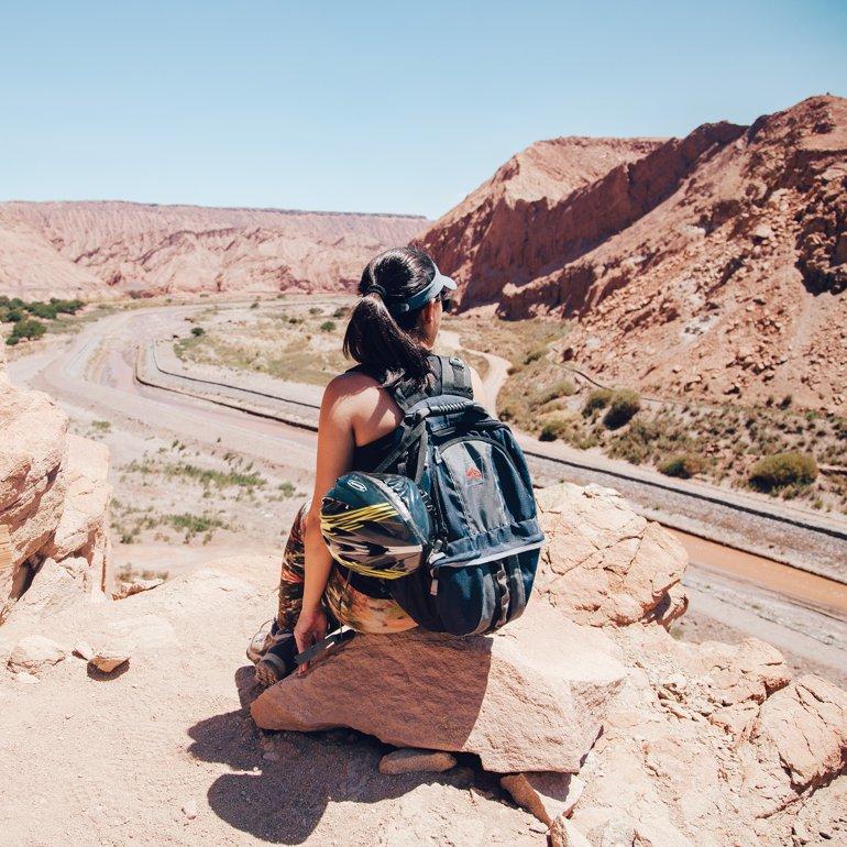 Pukara de Quitor, no Deserto do Atacama