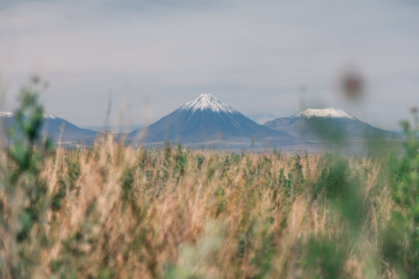 Deserto do Atacama: destaque para o vulcão Licancabur,