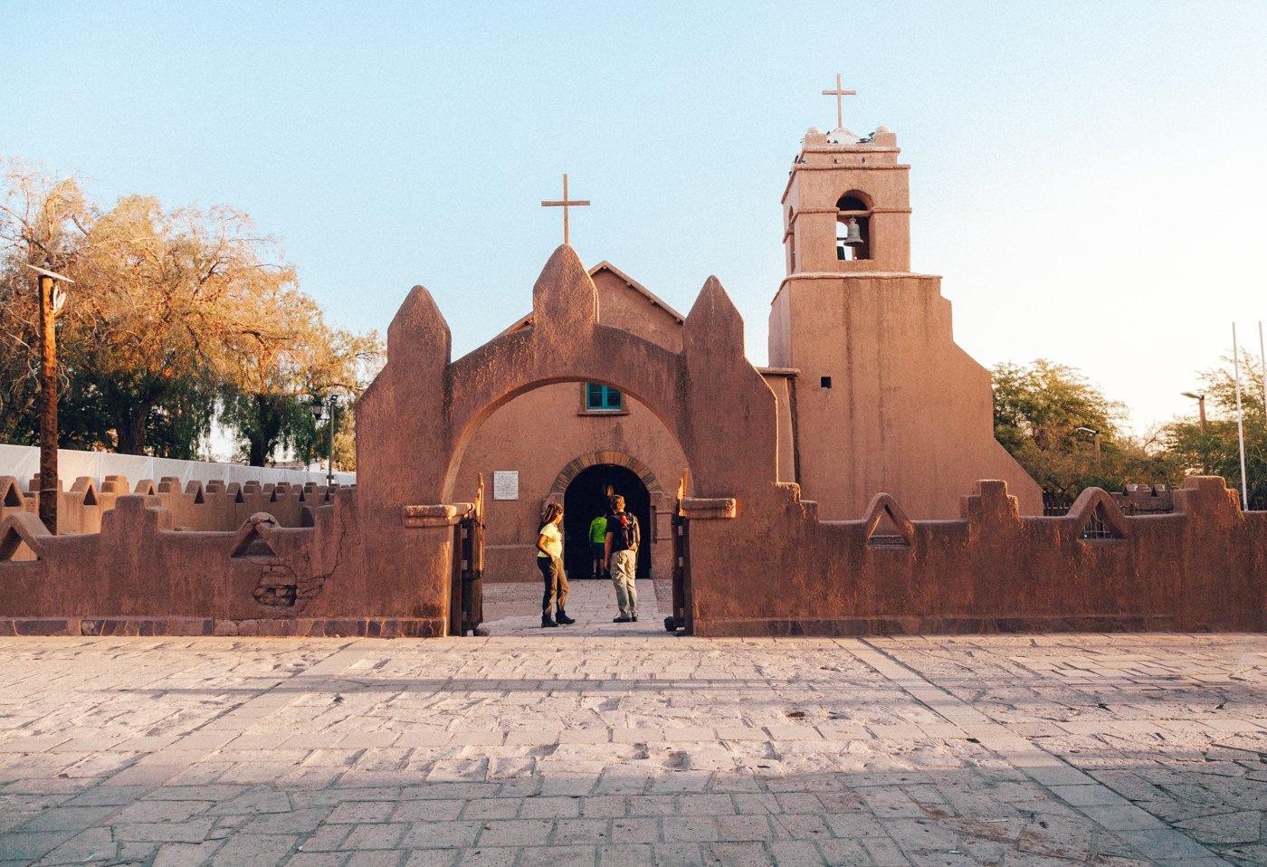 Igreja de San Pedro - Deserto do Atacama