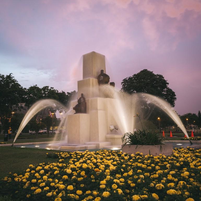 O que fazer em Lima, Peru: Fonte das Tradições