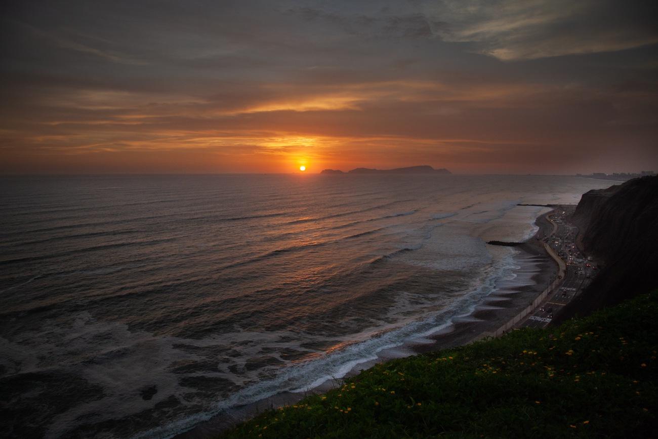 O que fazer em Lima, Peru: Pôr do sol em Miraflores