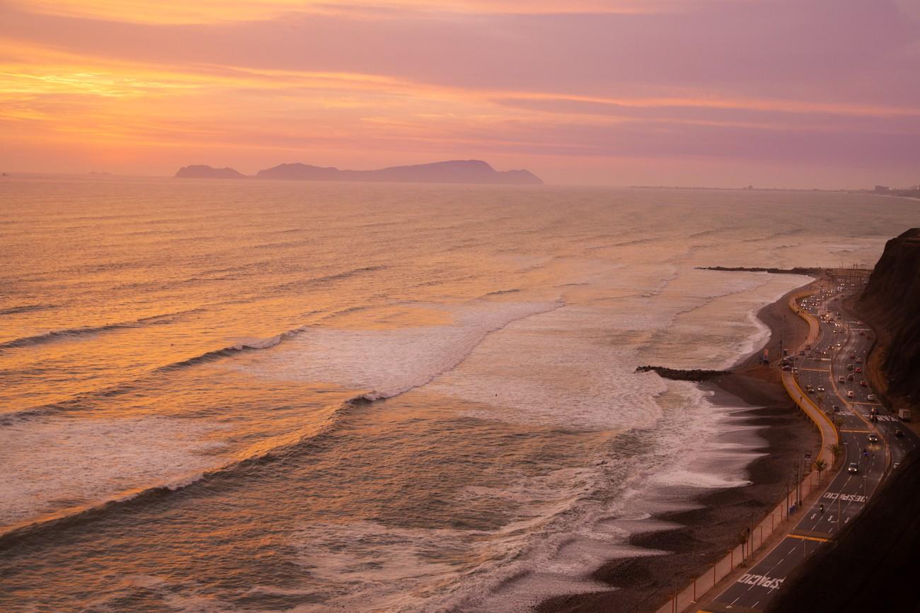 O que fazer em Lima, Peru: Fim de tarde no Malecón de Miraflores