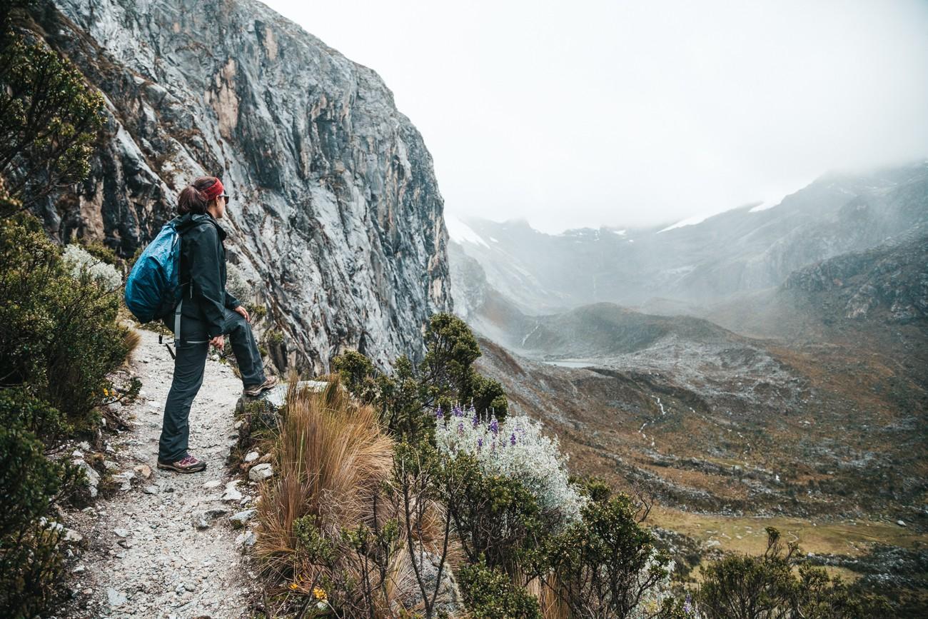 Trilha para a Laguna 69, Peru