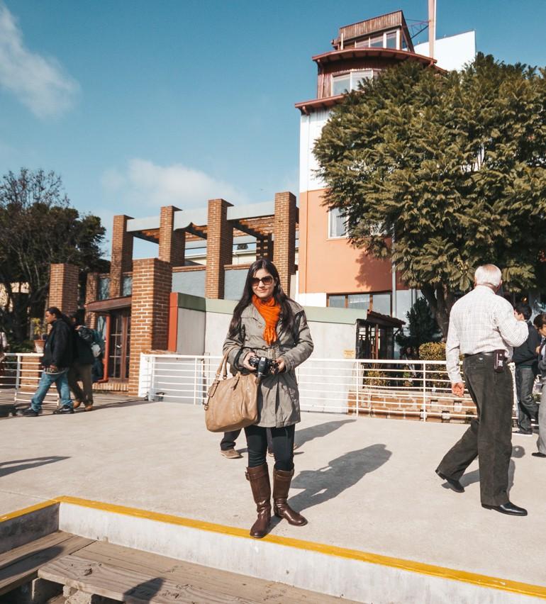 O que fazer em Santiago, Chile - casas de Pablo Neruda
