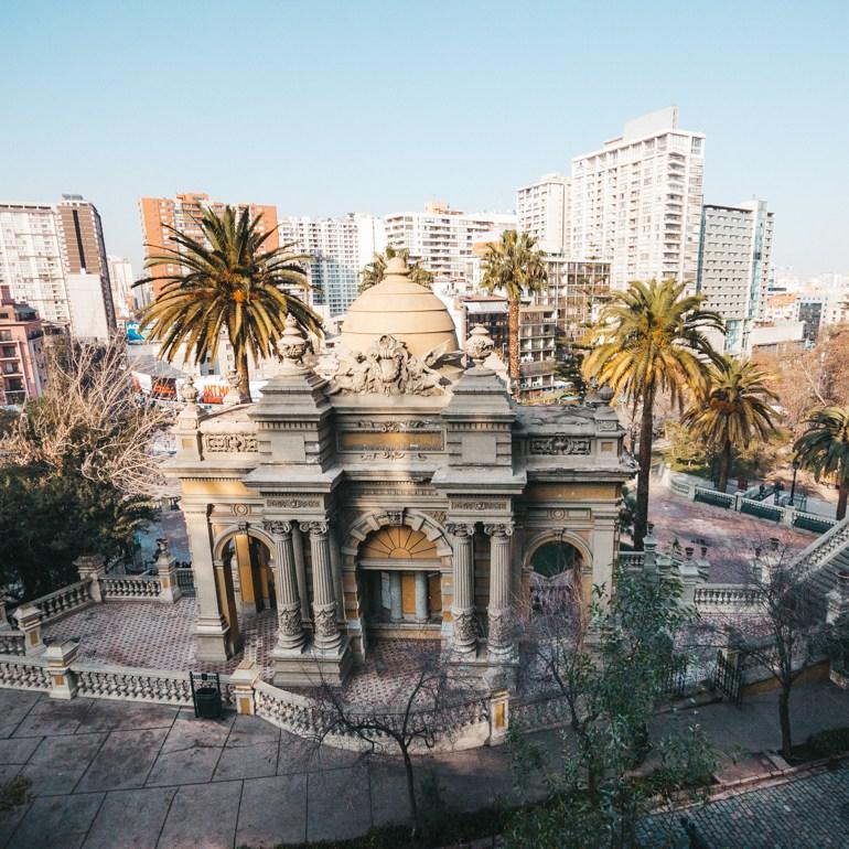 O que fazer em Santiago - Cerro Santa Lucía